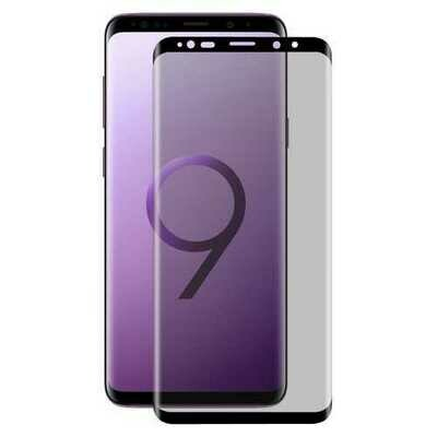 Enkay Anti Spy 3D Curved Full Screen Tempered Glass Screen Protector For Samsung Galaxy S9