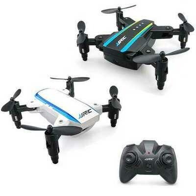 JJRC H345 Mini 2.4G 4CH 6 Axis Headless Mode Foldable Arm Double RC Drone Quadcopter RTF