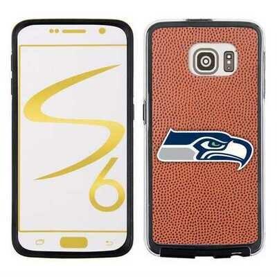 Seattle Seahawks Classic NFL Football Pebble Grain Feel Samsung Galaxy S6 Case - Special Order
