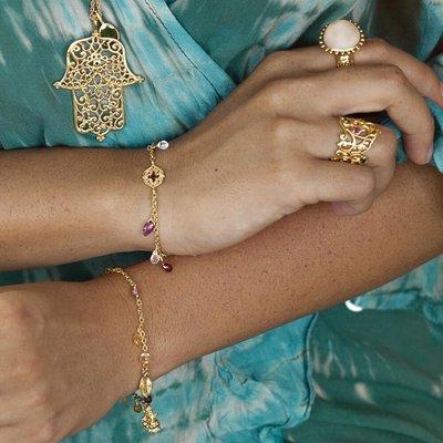 Sacred Heart Bracelet • Gold Vermeil