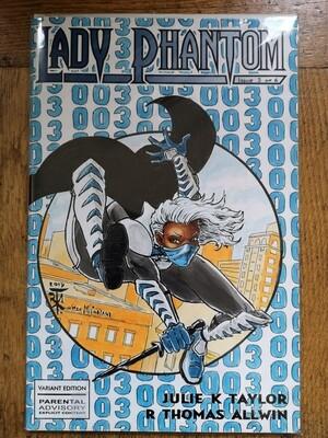 Sketch Cover Original, Lady Phantom #3
