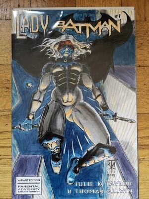 Sketch Cover Original, Lady Phantom #1