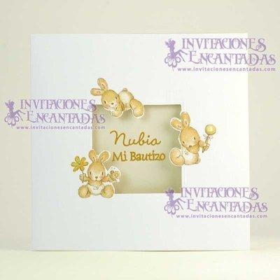 Invitación Bautizo Creative 06