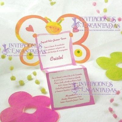 Invitación Bautizo Creative 026