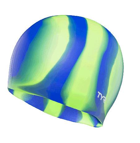 Шапочка для плавания TYR Multi Color Silicone Cap