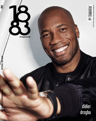 1883 Magazine Drive Issue Didier Drogba