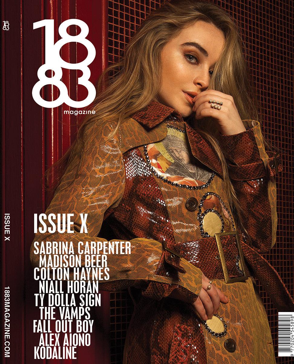 1883 Magazine Issue 10 Sabrina Carpenter