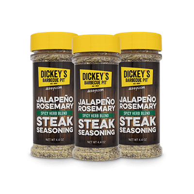 Dickey's Jalapeno Rosemary Steak Seasoning 3-Pack