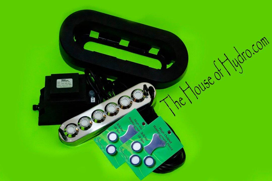 6 Disc Mist Maker Starter Kit - House of Hydro