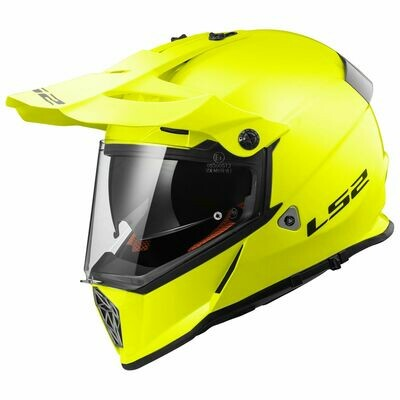 CASCO LS2 CROSS MX 436 PIONEER col. SOLID YELLOW