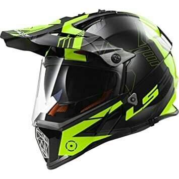 CASCO LS2 CROSS MX 436 PIONEER col. TRIGGER YELLOW