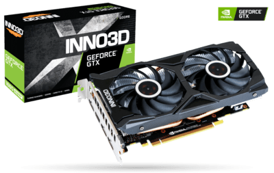 INNO3D GEFORCE GTX 1660 SUPER TWIN X2 6GB GRAPHIC CARD