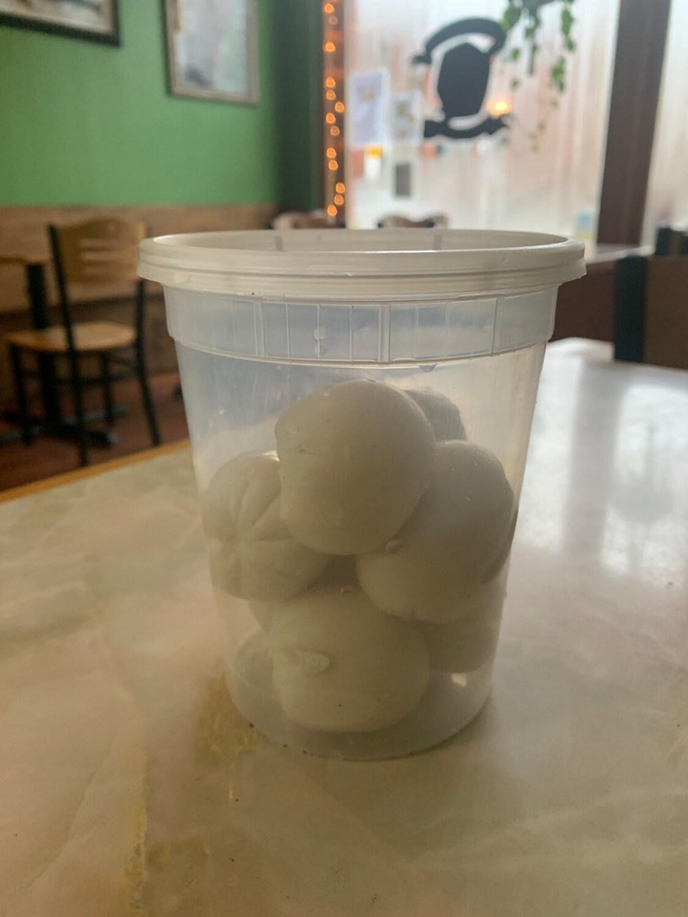 Cashew Mozzarella Balls