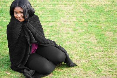 Plush Fleece Blanket with Logo