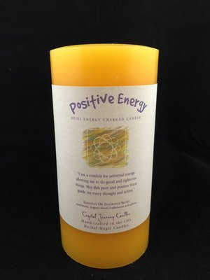 Herbal 3x6 Pillar - Positive Energy