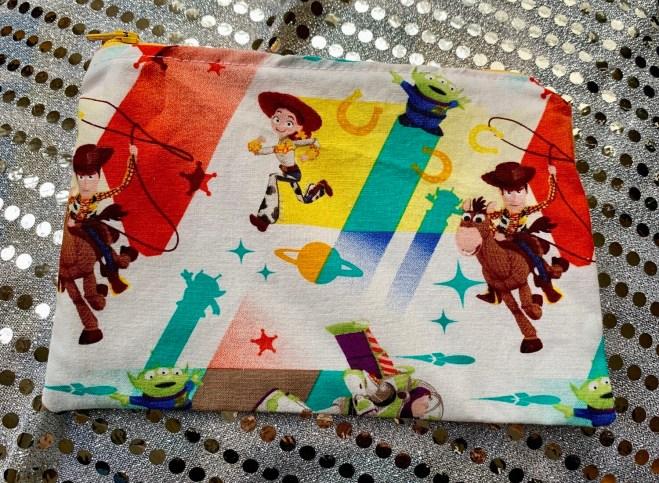 Handmade Snackbag with Foodsafe and Waterproof liner - ToyS