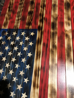 Traditional Stars and Stripes Flag