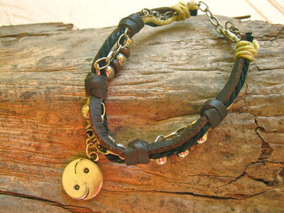 YIN YANG bracelet ~ NaturalSoul, mocha