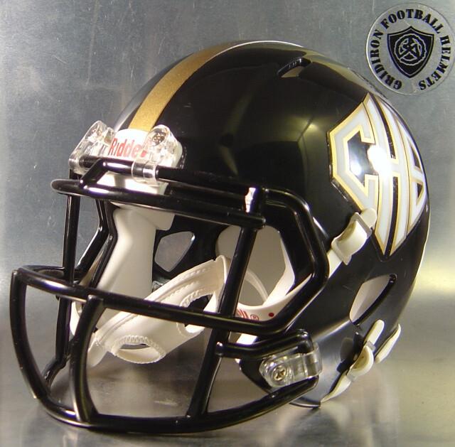 Port Lavaca Calhoun Sandcrabs HS 2007 to 2015 (TX) (mini-helmet)