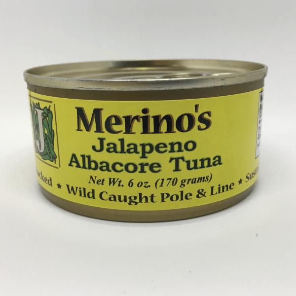 Merino's Jalapeno Albacore Tuna