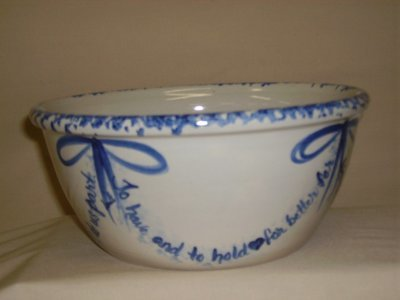Marriage Vow Bowl