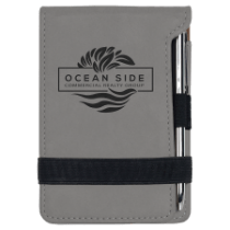 Leatherette Mini Pad with Pen