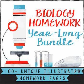 Biology Homework Bundle