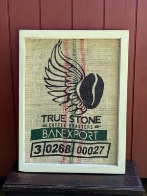 Vintage Sign, Vintage Wall Art, Coffee Decor