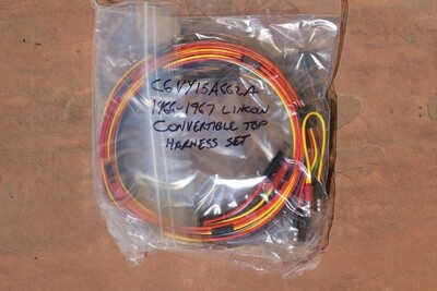 1966 1967 Lincoln Convertible Top Wiring Harness Set NEW C6VY-15B662-P