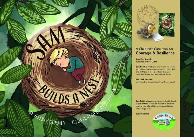 Sam Builds a Nest - Child's Book (ONLY) for Courage and Resilience 02