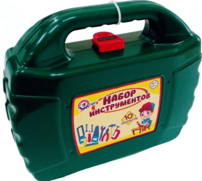 Набор игрушечных инструментов ТехноК 4371 10 пред. в кейсе