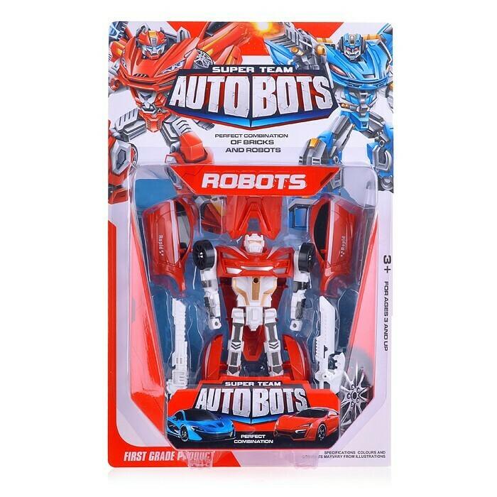 Робот-трансформер Автобот Super Team Autobots