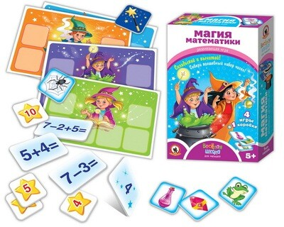 Настольная игра Магия математики 02047 Русский стиль