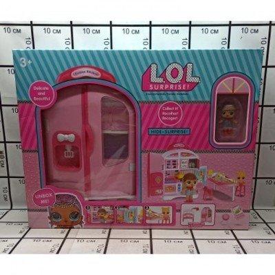 Игровой набор с куклами Кухня ЛОЛ QL048-1