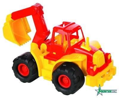 Трактор Богатырь с ковшом Нордпласт 098