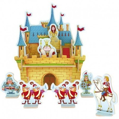 Деревянный 3D пазл Princess Castle ROBOTIME E203
