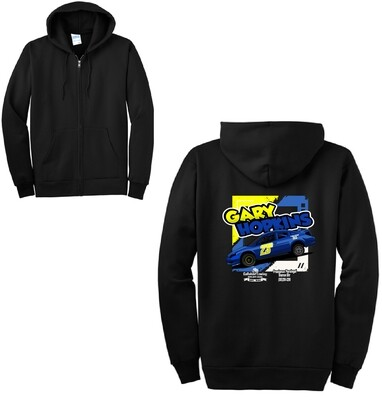2020 Gary Hopkins Racing Zip-Up Hoodie