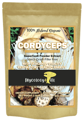 Cordyceps Mushroom 100% Organic Extract