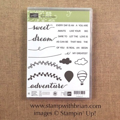 Dare to Dream Photopolymer Stamp Set
