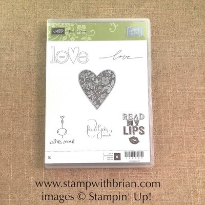 Best of Love Clear-Mount Stamp Set