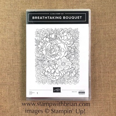 Breathtaking Bouquet Cling Stamp Set