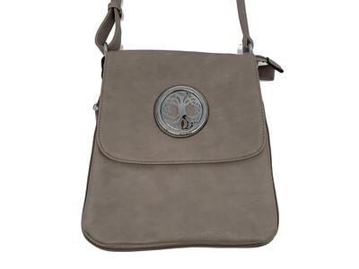 503 New Larger Zip Around gray