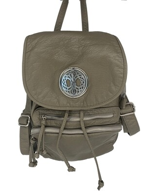 19296 Our Washed B Pack dk gray