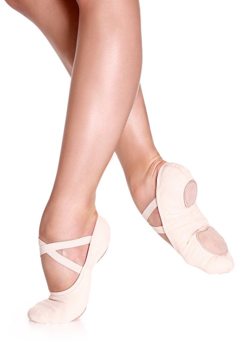 SD16S So Danca Child Canvas Ballet Flat