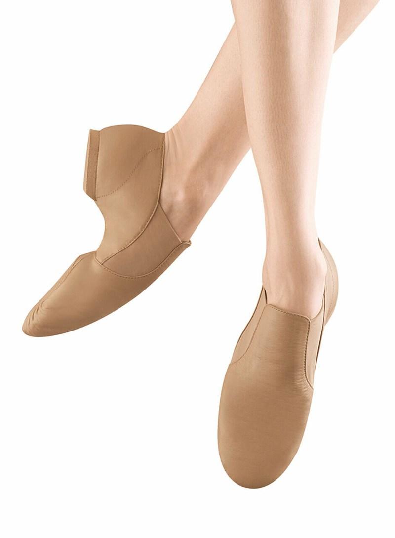 S0499L Bloch Adult Elasta Bootie Jazz Shoe