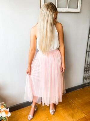 Ballet Pink Tulle Skirt