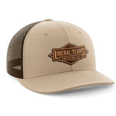Hat - Leather Patch: Liberal Tears Brewing Company