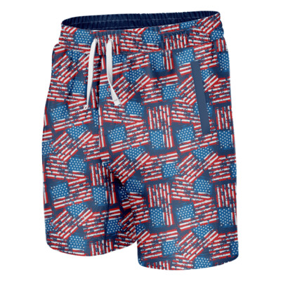 GH Swim Trunks - Distressed American Flag