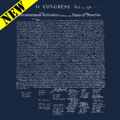 T-Shirt - Declaration of Independence