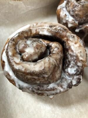 Hot Cinnamon Rolls - Virtual Bakery Case
